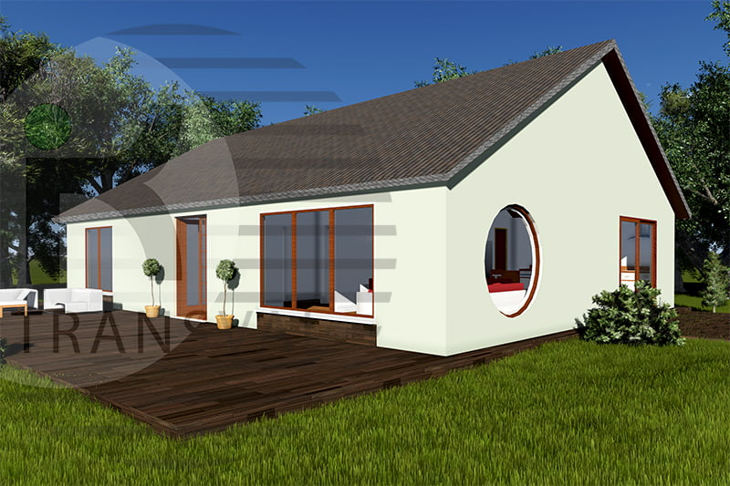 Casa din lemn Pascani