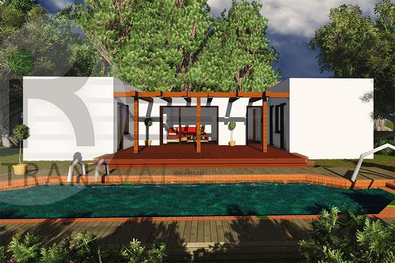Casa din lemn Intim