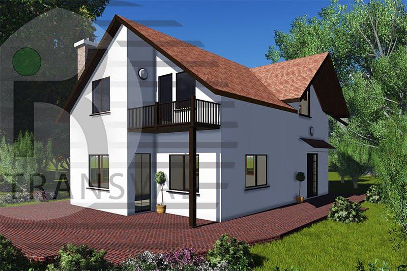 Casa din lemn Mihailesti 2