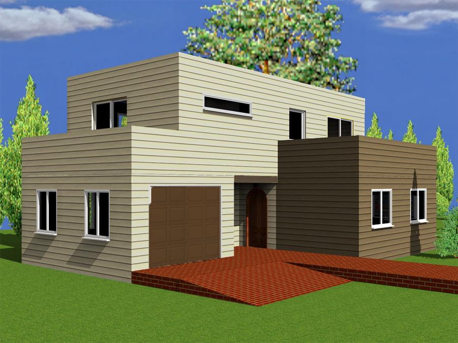 Casa din lemn Yla
