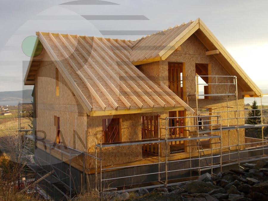 Casa din lemn Trondheim Norvegia