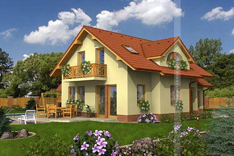 Casa din lemn Franta 3