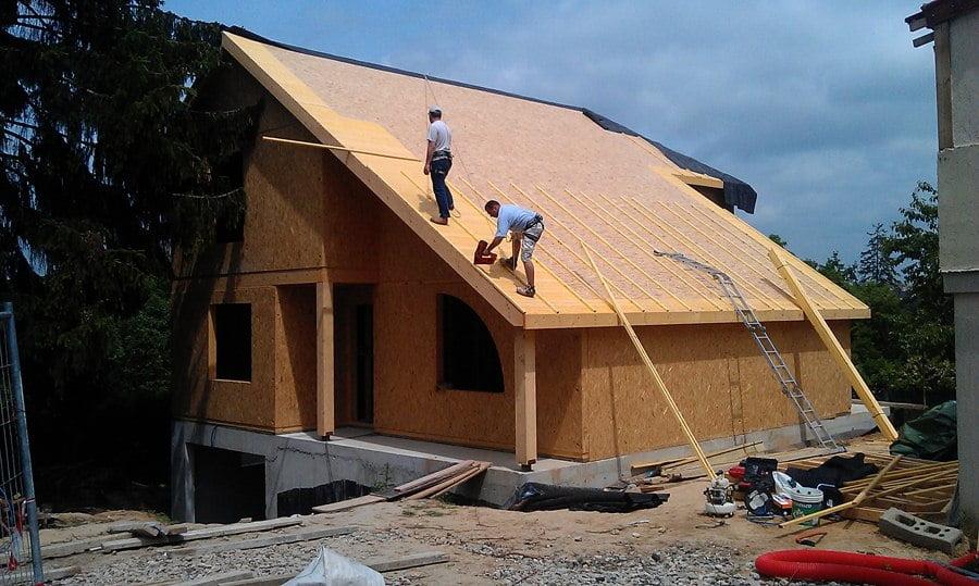 Casa din lemn Osny