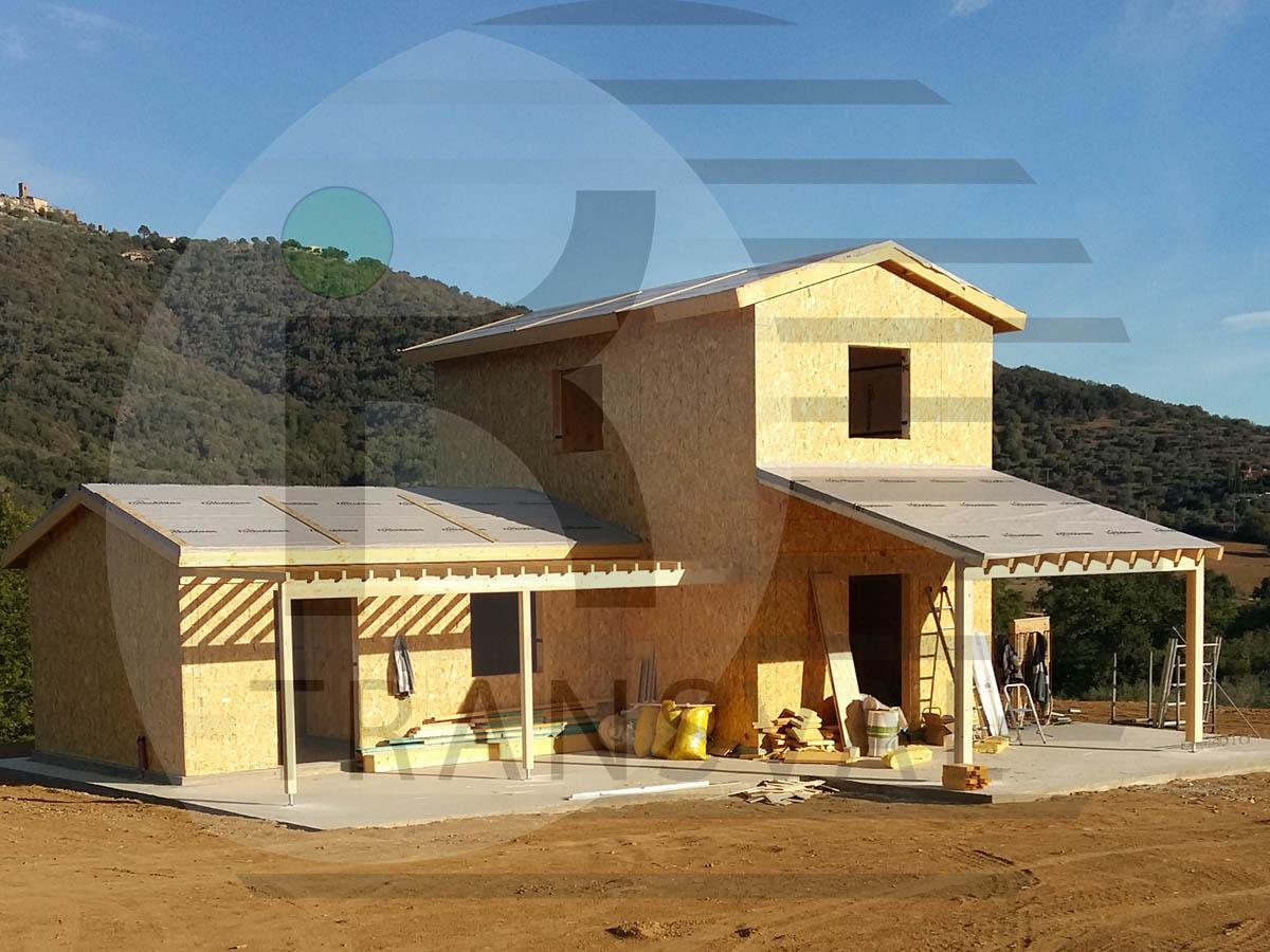 Casa lemn Italia in Buriano