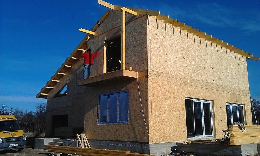 Casa din lemn Pitesti