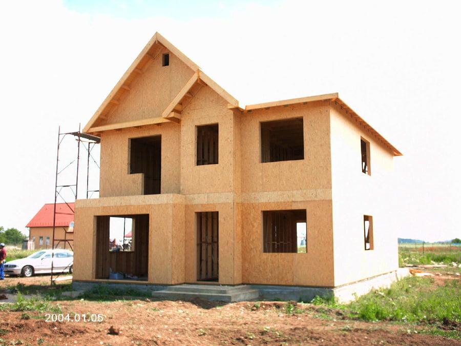 Casa din lemn Fragoescu