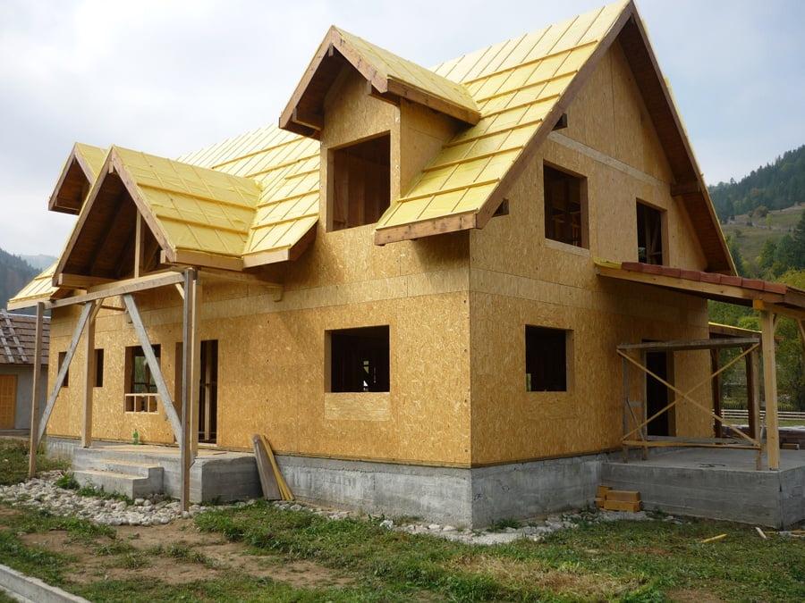 Casa Piatra Neamt lemn
