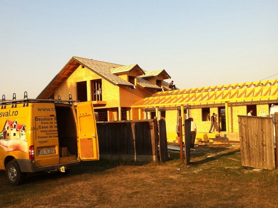 Casa din lemn Suceava