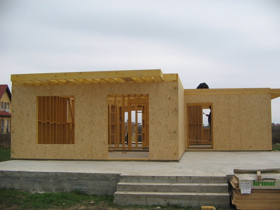 Casa din lemn Bucuresti