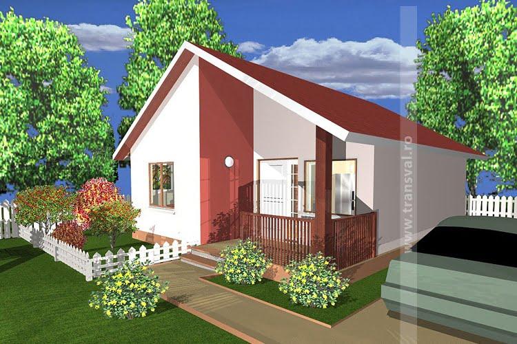 Casa din lemn mini