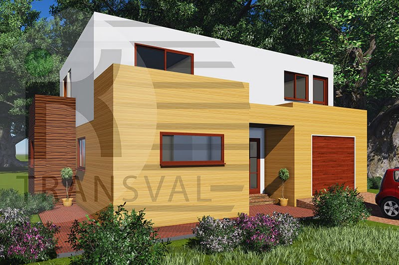 Casa din lemn Suedia 2