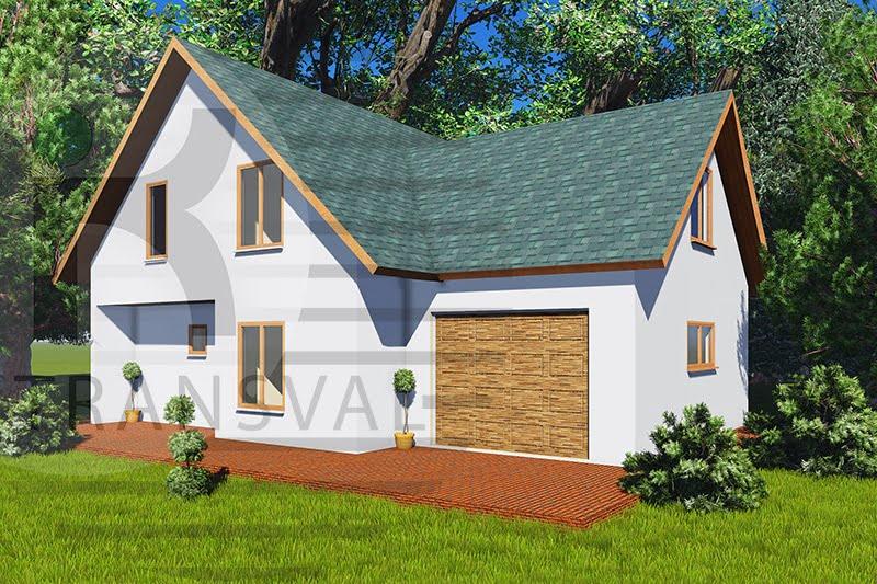 Casa din lemn Elina 2