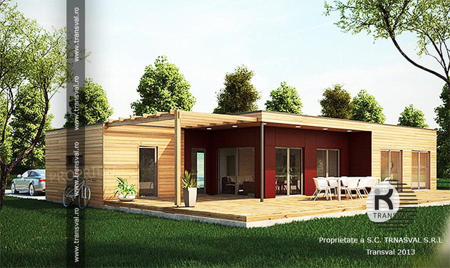 Casa din lemn Immo