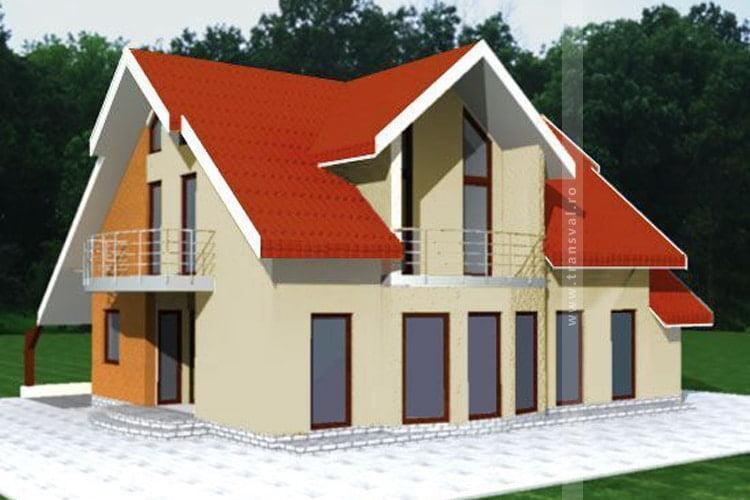 Casa din lemn Franta 2