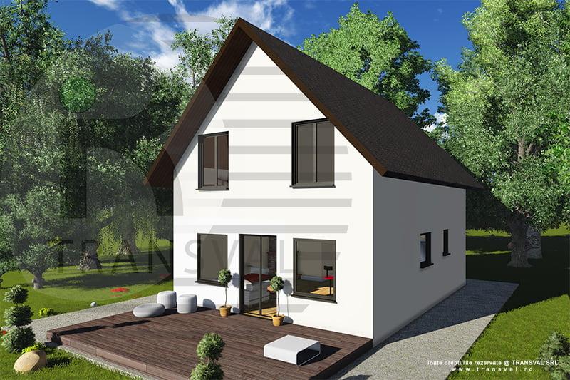 Casa din lemn Mihu