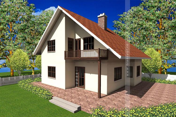 Casa din lemn Slovaca