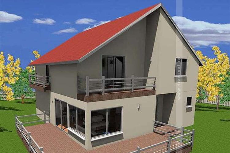 Casa din lemn Webber