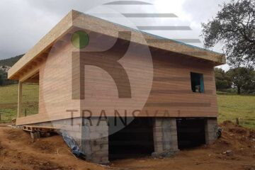 Maison en bois Corse